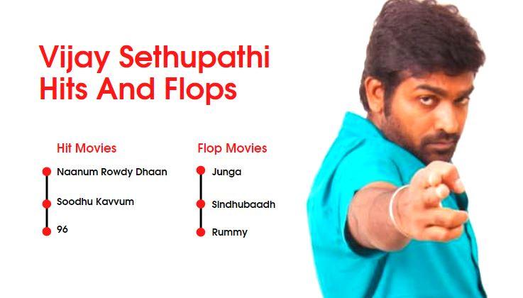 Vijay Sethupathi Hits and Flops