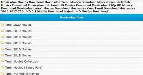 moviesda 2021 tamil movies