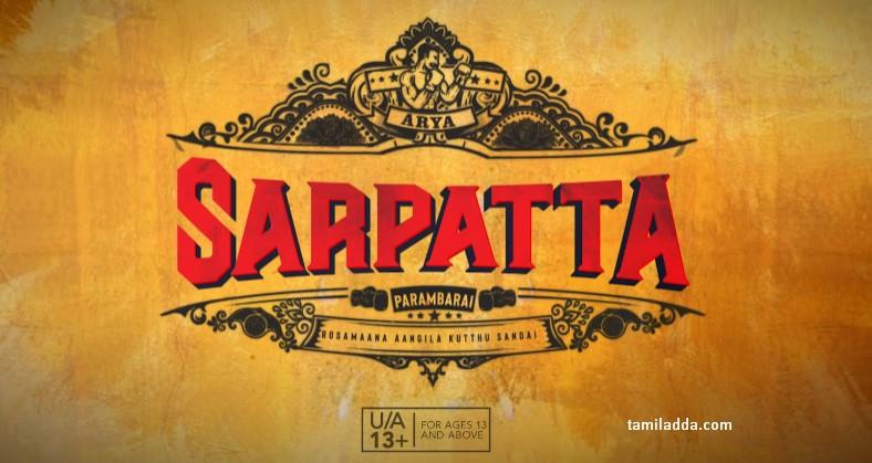 Sarpatta paraumbarai Movie Download KuttyMovies