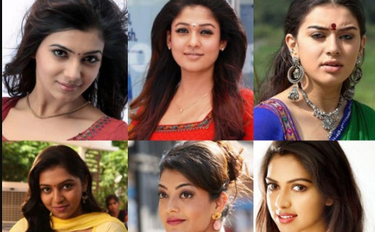 All Tamil Actress Name List